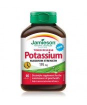 Jamieson Maximum Strength Time Release Potassium Supplements
