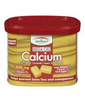 Jamieson Mega Cal Calcium Soft Chews 650 mg