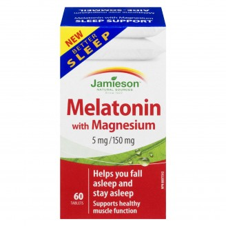 Jamieson Melatonin With Magnesium