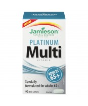 Jamieson Platinum Multi-Vitamin For Adults 65+