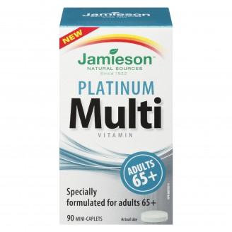 Jamieson Platinum Multi-Vitamin For Adults 65+