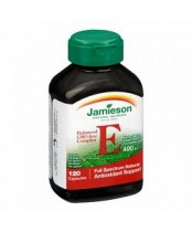 Jamieson Nature's Best Balanced GMO-Free Complex Vitamin E 400 IU
