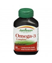 Jamieson Omega-3 Complete 1000 mg Premium