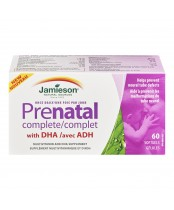 Jamieson Once Daily Prenatal Complete Multivitamin and DHA Supplement