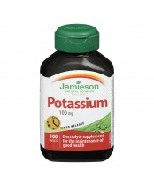 Jamieson Potassium 100 mg Timed Release