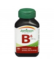 Jamieson Vitamin B6 250 mg (Pyridoxine)