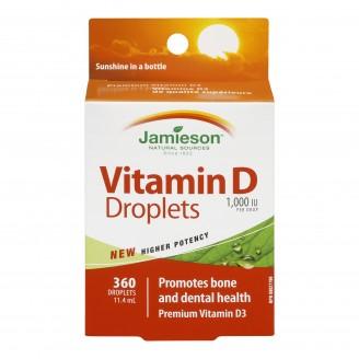 Jamieson Vitamin D 1000 IU Droplets