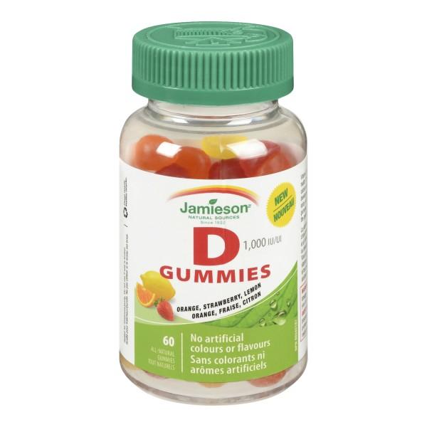 buy jamieson vitamin d gummies in canada   free shipping