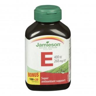 Jamieson Vitamin E Softgels Bonus Size