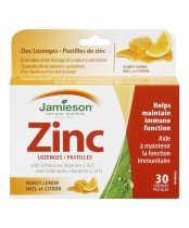 Jamieson Zinc Lozenges with Echninacea, Vitamin C & D