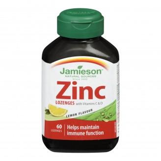 Jamieson Zinc Lozenges with Vitamin C
