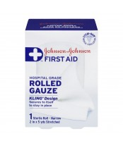 Johnson & Johnson First Aid Kling Rolled Gauze Bandage