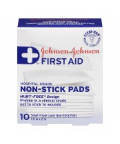 Johnson & Johnson First Aid Non Stick Pads