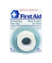 Johnson & Johnson First Aid Paper Tape