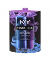 K-Y Yours + Mine Couples Lubricants