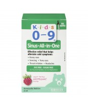 Kids 0-9 Sinus-All-in-One Homeopathic Medicine