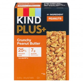 KIND Plus Crunchy Peanut Butter