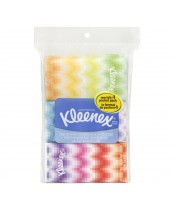 Kleenex 3-Ply White Tissue Pocket Packs