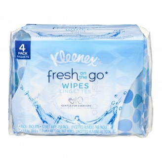 Kleenex Fresh On The Go Wipes