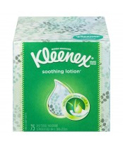 Kleenex Soothing Lotion Tissue Upright With Aloe & E
