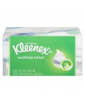 Kleenex Soothing LotionTissue With Aloe & E