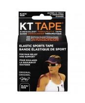 KT Tape Elastic Sports Tape Black