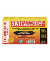 Laboratoire Suisse Swical Energy Forte Formula Vitamin and Mineral Supplement Economic Pack