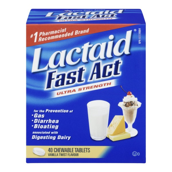 Buy Lactaid Fast Act Chewables In Canada Free Shipping