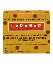 LaraBar Peanut Butter Chocolate Chip Fruit and Nut Energy Bar