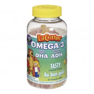 L'il Critters Omega 3 DHA Gummy Fish Vitamins