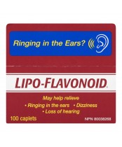 Lipo-Flavonoid Ear Health Supplement Capsules