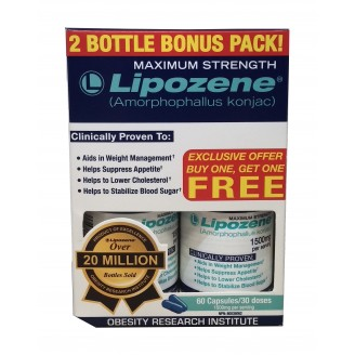 Lipozene Capsules 2 Bottle Bonus Pack