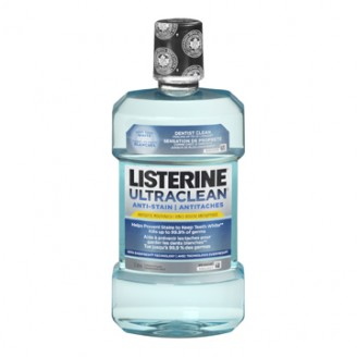 Listerine UltraClean Anti-Stain Mouthwash