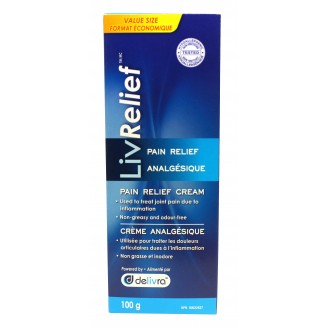 LivRelief Pain Relief Cream Value Size