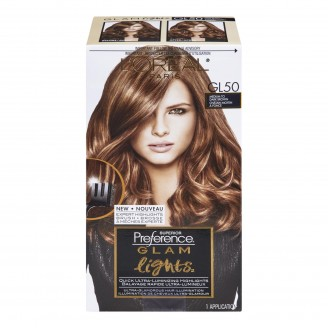 L'Oreal Paris Superior Preference Glam Lights Medium To Dark Brown