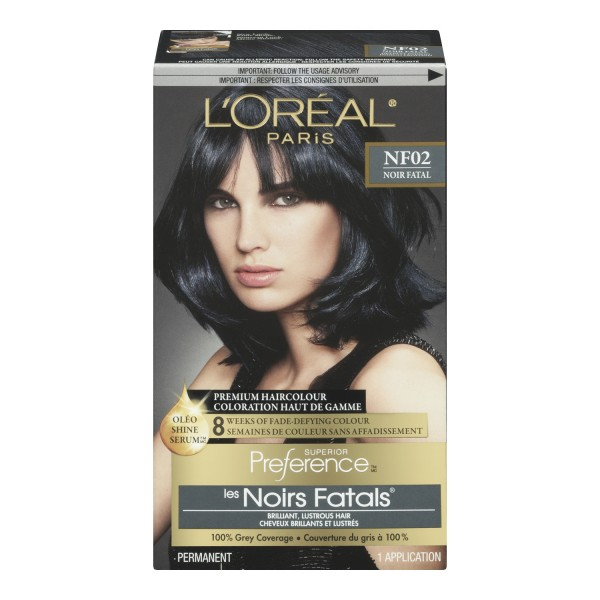 Loreal Paris Superior Preference Hair Dye Color Rr04 Intense Dark Red  Dark
