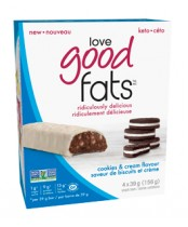 Love Good Fats Cookies and Cream Flavour