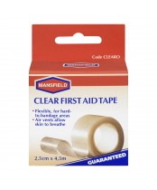 Mansfield Clear First Aid Tape