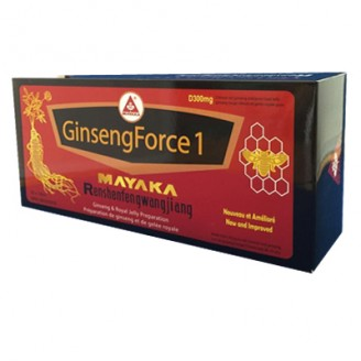 Mayaka GinsengForce 1 Royal Jelly Preparation