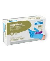 Medi Touch Powder Free Nitrile Examination Gloves - Small