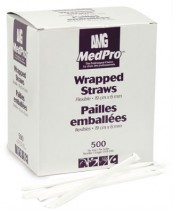 MedPro Flexible Wrapped Straws