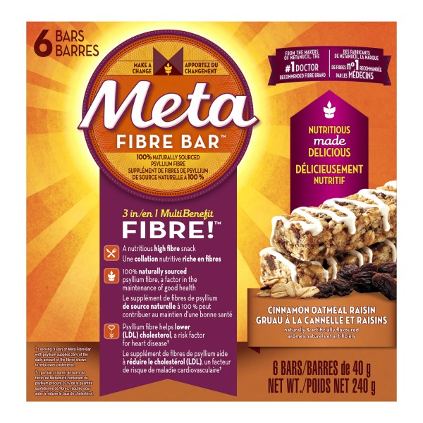 Buy meta health 3 in 1 fibre bar in canada free shipping