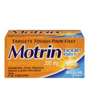 Motrin IB Regular Strength Ibuprofen Liquid Gels