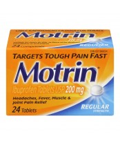 Motrin IB Regular Strength Ibuprofen Tablets