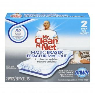 Mr Clean Magic Eraser Kitchen Scrubber with Dawn