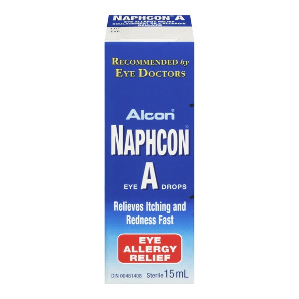 Allergy Eye Drops >> Buy Naphcon A Allergy Relief Eye Drops In Canada Free Shipping