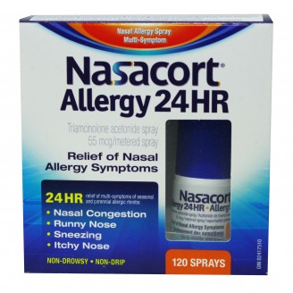 Nasacort 24HR Allergy Relief Nasal Spray