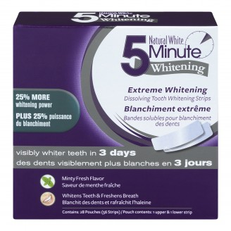 Natural White 5-Minute Extreme Whitening Strips