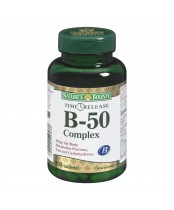 Nature's Bounty B-50 Complex Tablets