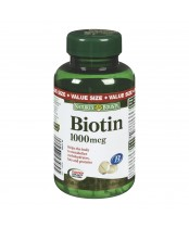 Nature's Bounty Biotin Tablets